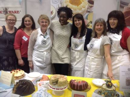 CCC at the Cake & Bake Show 6.4.14