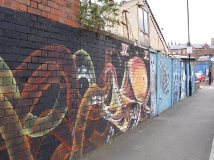 street art open up opp the holt