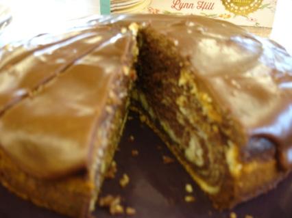 Yummy inside tiger cake